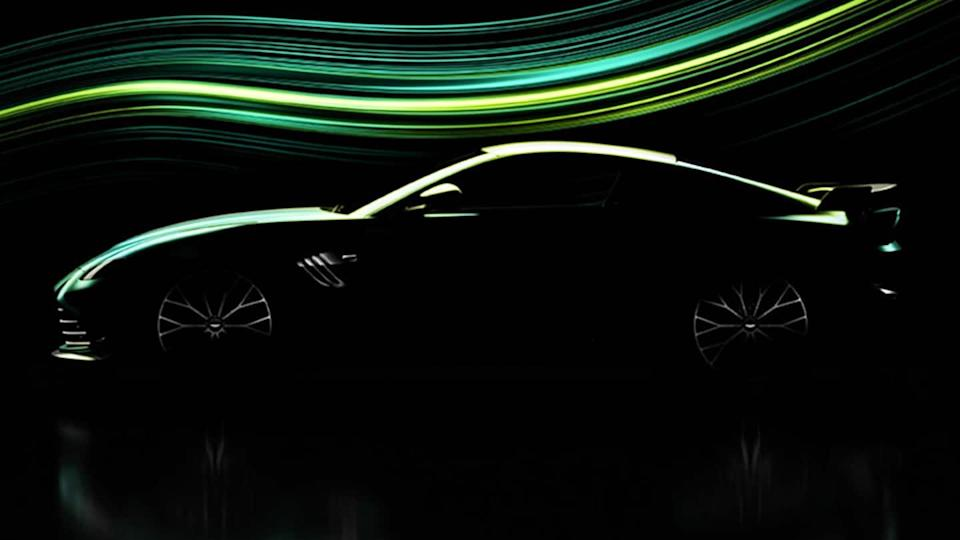 New Aston Martin Vantage teased; will debut on March 22