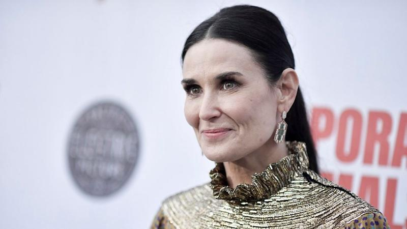 Demi Moore Wore the Perfect Fall Matching Set to Her NYC Book Signing