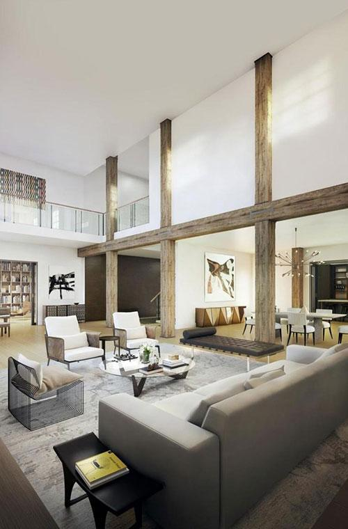 <p>The condo features floor-to-ceiling windows allowing lots of natural light to flow through. It has three bedrooms and 3.5 bathrooms.</p>