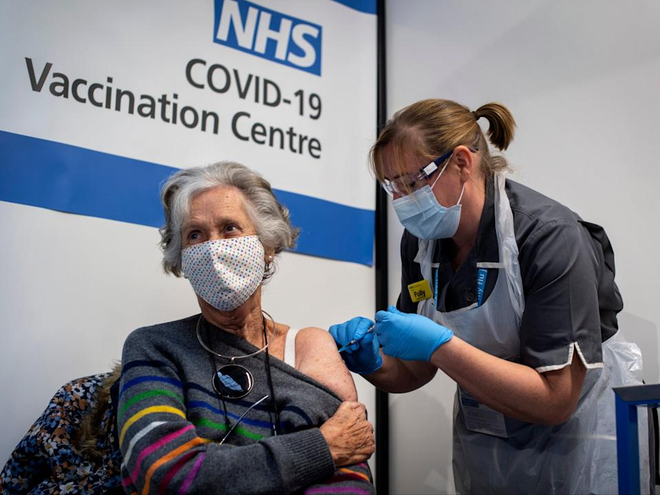 The research will help shape the decision on whether to roll out a third vaccine dose to people in winter or not (Getty)