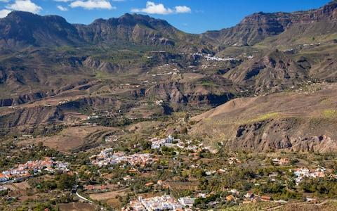 <span>Ancient aboriginal dwellers used to live in the mountains of Santa Lucia on Gran Canaria</span> <span>Credit: iStock </span>