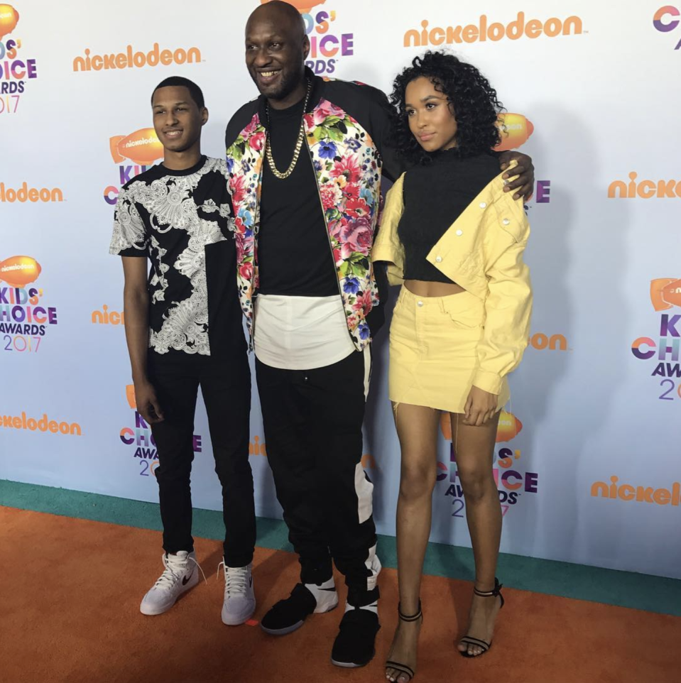 "<p>Odom had three kids—Destiny, Lamar Jr., and Jayden—with Liza Morales before he married <a href=""https://www.marieclaire.com/celebrity/a18671966/lamar-odom-talks-khloe-kardashian-pregnancy/"" rel=""nofollow noopener"" target=""_blank"" data-ylk=""slk:Kholé Kardashian"" class=""link rapid-noclick-resp"">Kholé Kardashian</a> in 2009. In 2006, his youngest son Jayden tragically passed away in his sleep <a href=""http://www.espn.com/nba/news/story?id=2504783"" rel=""nofollow noopener"" target=""_blank"" data-ylk=""slk:due to suffocation"" class=""link rapid-noclick-resp"">due to suffocation</a>. It's thought that the death of his 6-month-old son led to the basketball star's <a href=""http://people.com/sports/how-the-death-of-lamar-odoms-baby-boy-sent-him-spiraling-into-drug-addiction-and-infidelity-his-ex-reveals/"" rel=""nofollow noopener"" target=""_blank"" data-ylk=""slk:drug addiction"" class=""link rapid-noclick-resp"">drug addiction</a>.</p>"