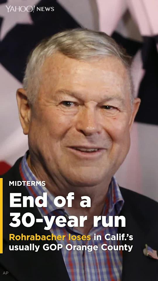 Rep. Dana Rohrabacher (R-Calif.), whose quixotic foreign policy campaigns made him persona non grata in Pakistan and Afghanistan and who became a rare U.S. defender of Vladimir Putin, has lost his seat after 30 years.