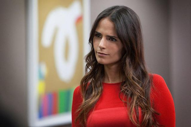 "Jordana Brewster in the ""Dallas"" Season 2 episode, ""Battle Lines."""