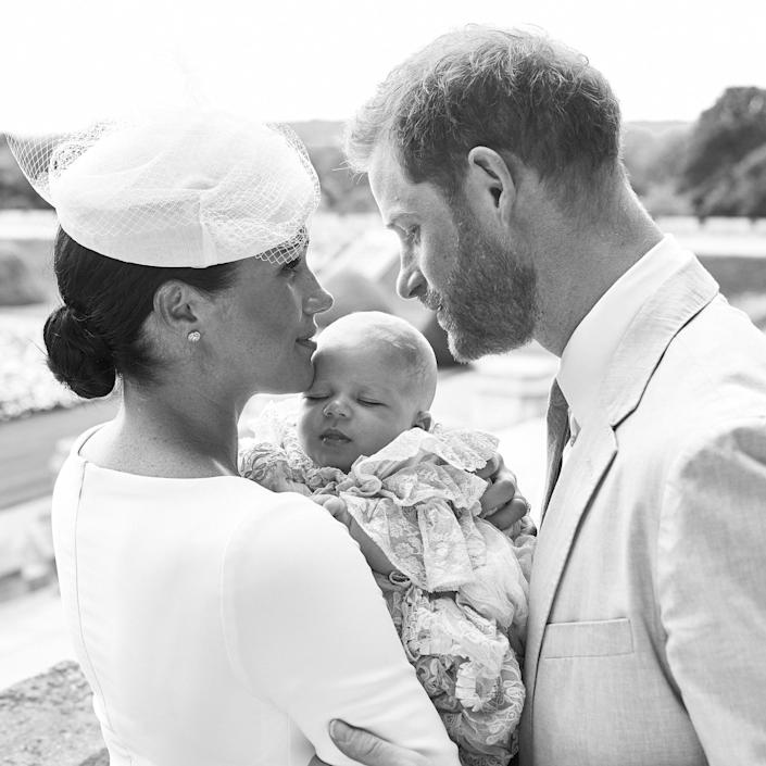 Official Photographs From The Christening Of Archie Harrison Mountbatten-Windsor (Chris Allerton/SussexRoyal / Getty Images)