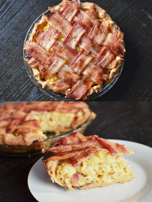 "<p>Get the recipe for Macaroni and Cheese Pie with Bacon Lattice at <a rel=""nofollow"" href=""https://www.buzzfeed.com/emofly/macaroni-and-cheese-pie-with-a-bacon-lattice?utm_term=.xp77vXyB3B#.ds2gRP4AzA"">Buzzfeed</a>.</p>"