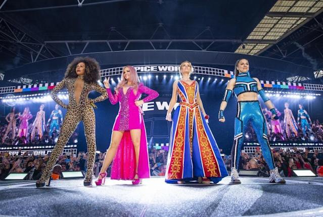 cf56491a It's 25 years since the Spice Girls formed, and their reunion tour – minus  Victoria