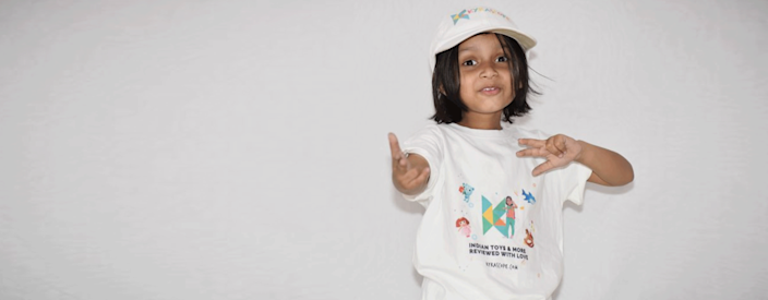 Kyra Kanojia, considered one of India's youngest YouTubers, reviews the latest toys to hit the market on her YouTube channel, Kyrascope Toy Reviews.