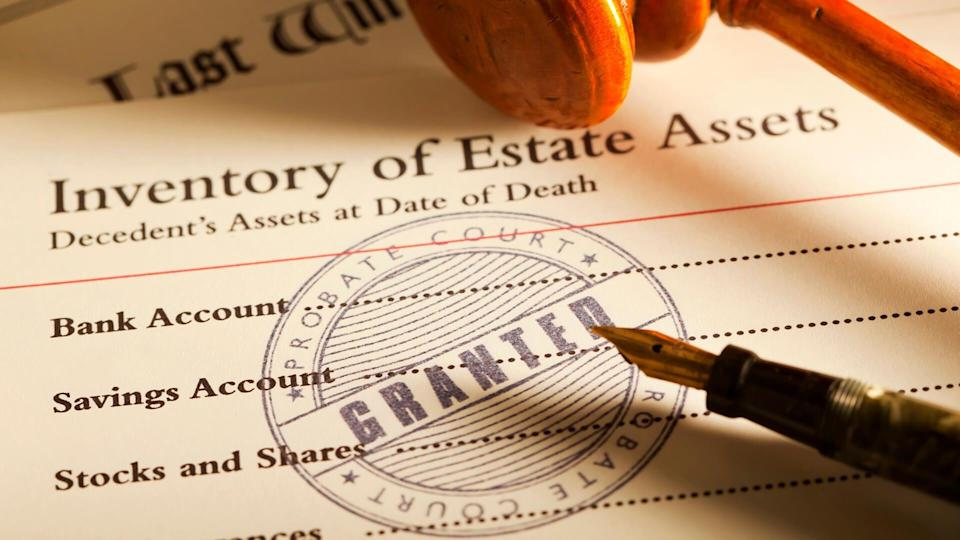 """""""Probate Court with probate granted on a Last Will & Testament."""