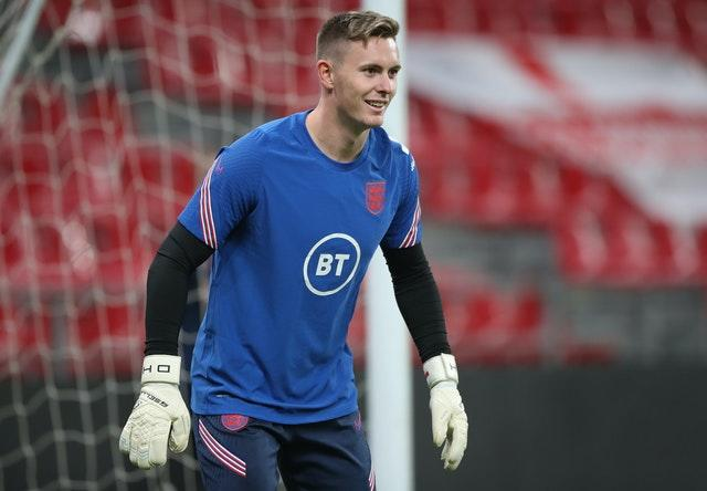 Dean Henderson was an unused substitute in England's Nations League matches this month