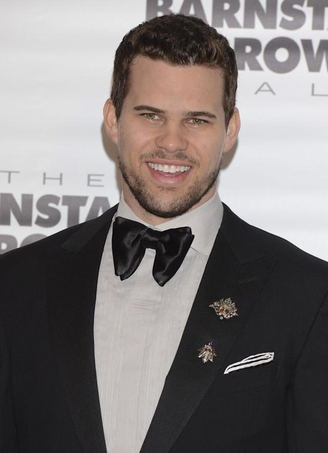 LOUISVILLE, KY - MAY 02: Basketball player Kris Humphries attends the Barnstable Brown Kentucky Derby Eve Gala at Barnstable Brown House on May 2, 2014 in Louisville, Kentucky. (Photo by Vivien Killilea/Getty Images)