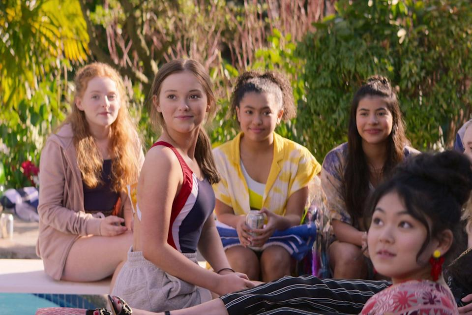 """<strong><em>The Baby-Sitters Club</em></strong><em>: </em><strong><em>S2</em></strong><br><br>Based on the beloved book series by Ann M. Martin, last year many of us found comfort in the surprisingly delightful Netflix adaptation, focusing on the adventures of seven friends. Season two is hitting our screens this autumn and with it come the trials and tribulations of growing demand for their business, new relationships and important life lessons. <br><br>Available 11th October<span class=""""copyright"""">Photo Courtesy of Netflix.</span>"""