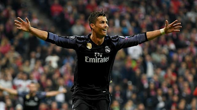 Cristiano Ronaldo says he has heard nothing about critics doubting his ability and was delighted to score twice against Bayern Munich.