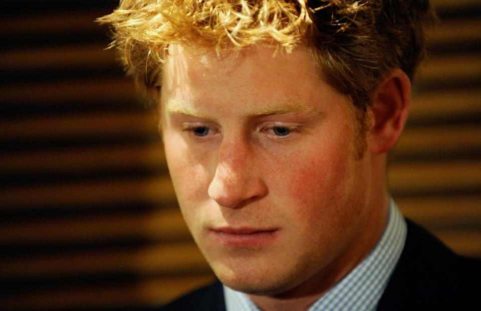 Prince Harry pictured in 2008 [Photo: Getty]