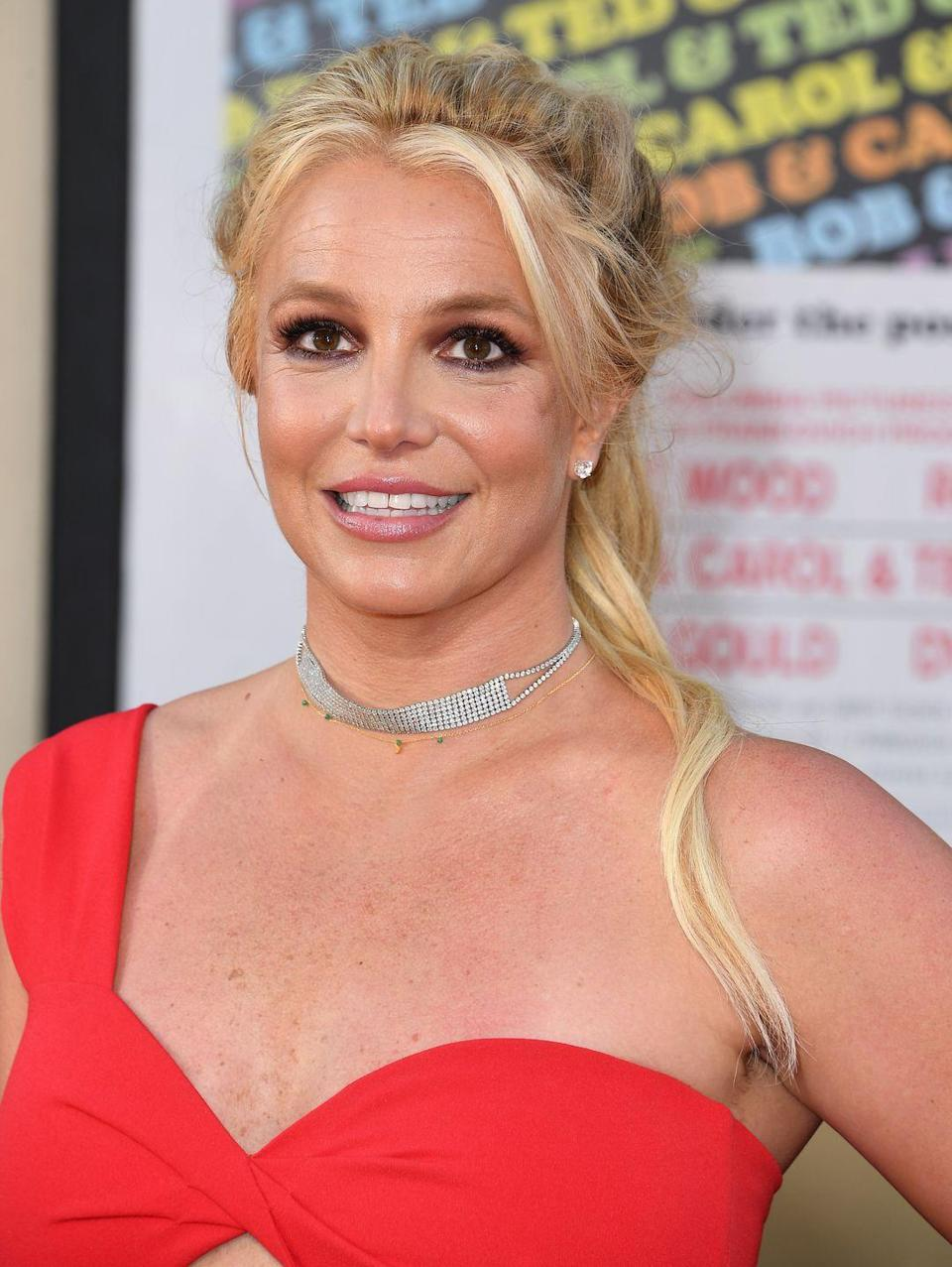 <p>Britney has worn bangs for more than two decades and she doesn't seem to be slowing down—a fact that was made abundantly clear at a premiere in 2019. </p>