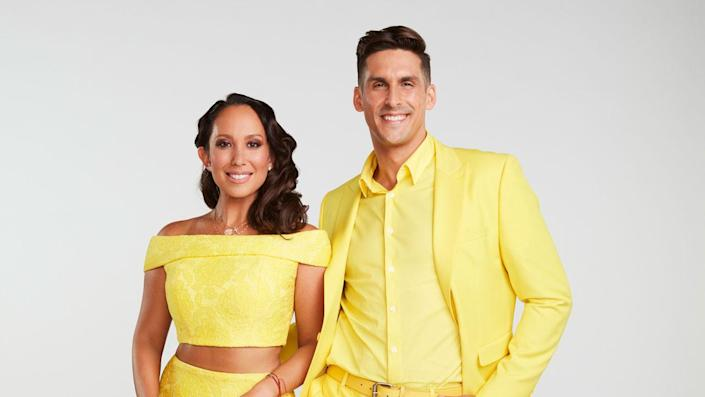 """'Dancing with the Stars' contestant Cody Rigsby has tested positive days after partner Cheryl Burke received her own positive test results. <span class=""""copyright"""">Maarten de Boer/ABC via Getty Images</span>"""