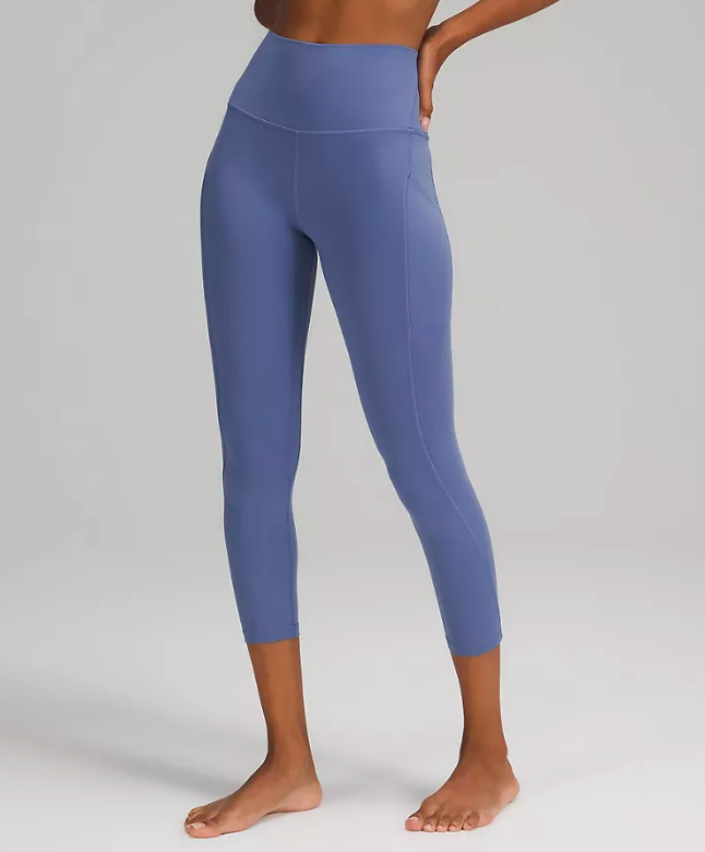 Align High-Rise Crop with Pockets 23