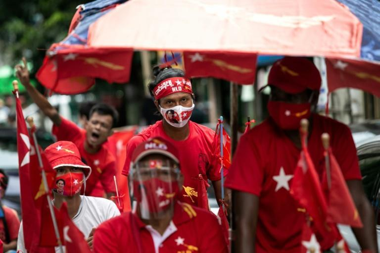 Aung San Suu Kyi's ruling National League for Democracy is widely expected to be returned to power in November's polls