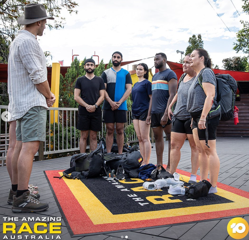 the amazing race pit stop