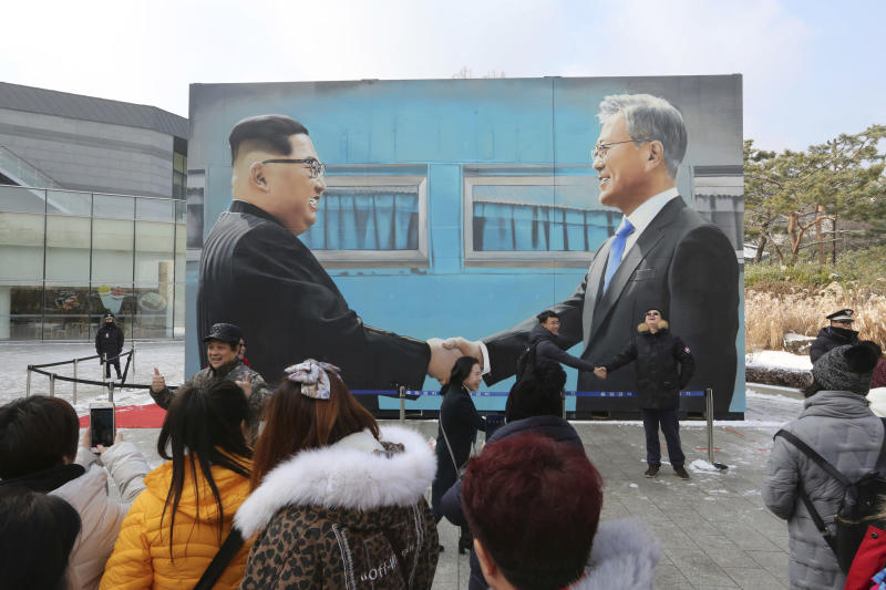 Blue House: North Korea's Kim wants more summits with Moon next year