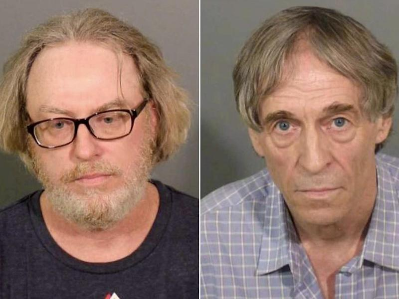 Alleged ringleader Robert King (left) is accused of sending prostitutes to Bruce Bemer (right) and other clients for two decades