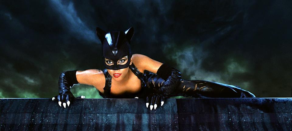 Halle as Catwoman