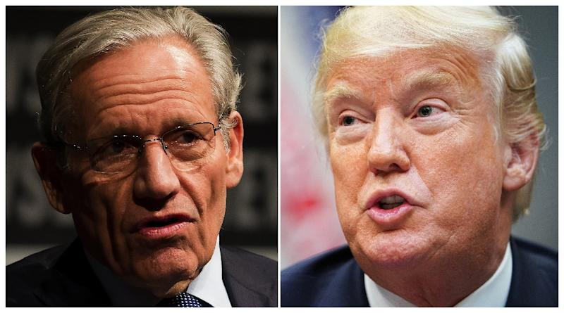 Bob Woodward's book on the Trump White House has been denounced as a