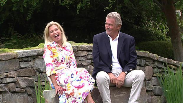 Actor James Brolin, with correspondent Tracy Smith. / Credit: CBS News