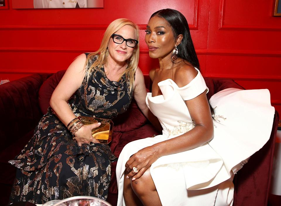 """<p><strong><em>Otherhood</em></strong><br>2nd August</p><p>What happens when you combine Angela Bassett, Felicity Huffman, and Patricia Arquette? You get <em>Otherhood</em>, a movie about three mothers tired of their lazy adult sons (played by Jake Lacy, Jake Hoffman, and Sinqua Walls).</p><span class=""""copyright"""">John Salangsang/Invision/AP/REX/Shutterstock</span>"""