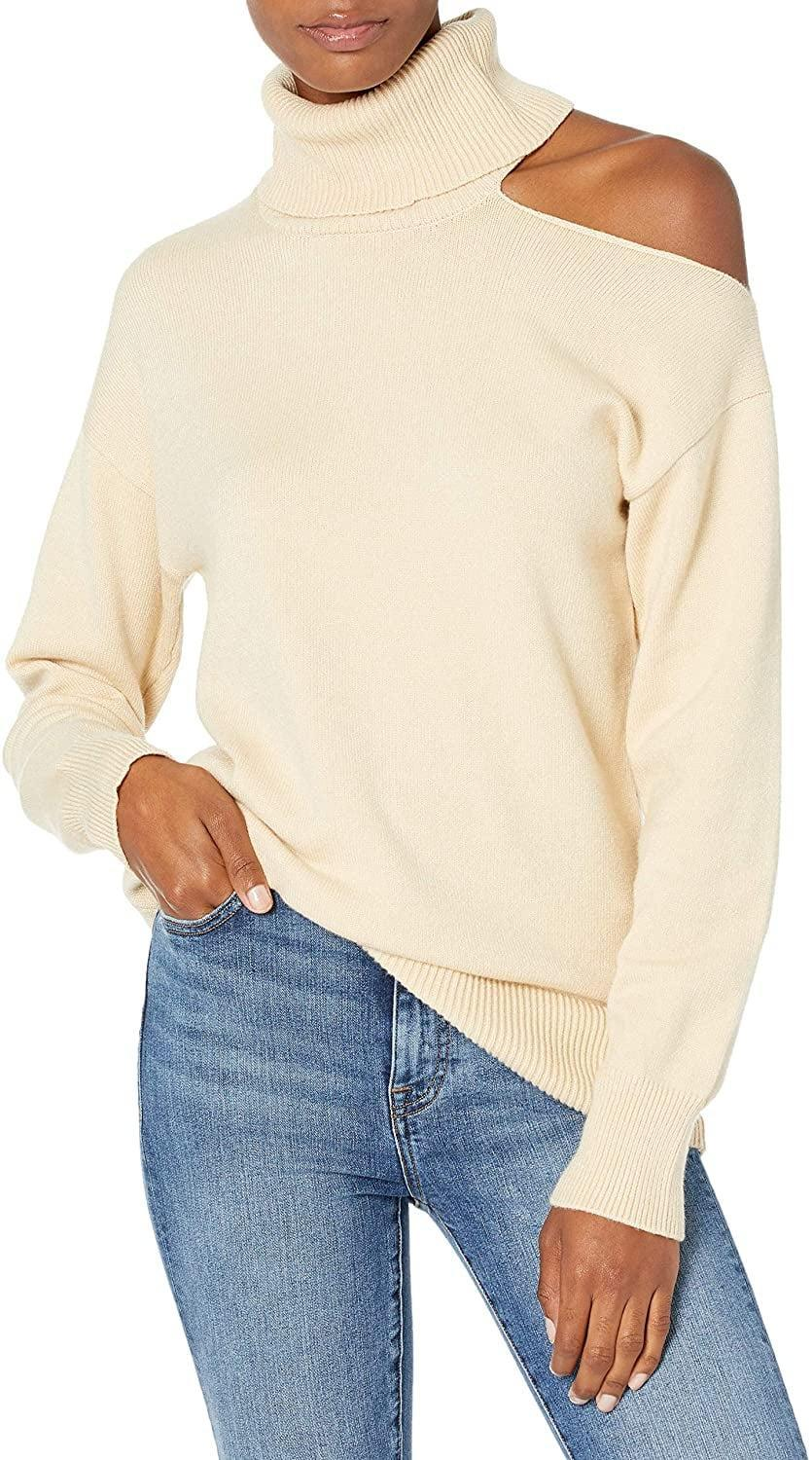 <p>This <span>The Drop Josephine Cutout Turtleneck Sweater</span> ($45) also comes in black.</p>