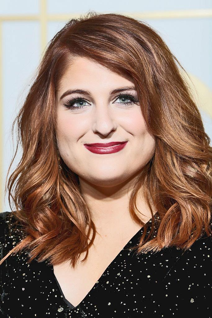 Meghan Trainor is no longer a fiery redhead. (Photo: Getty Images)