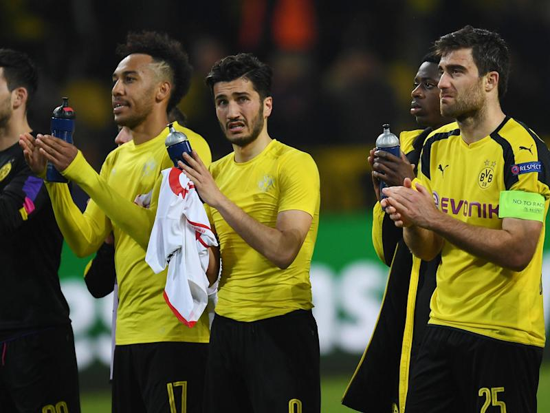 Borussia Dortmund played less than 24 hours after the terrifying attack on their team bus: Getty