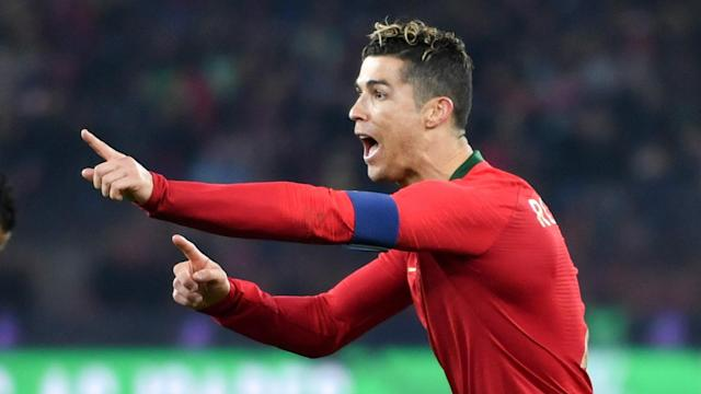 A continuation of Ronaldo's astounding 2018 form saw the Portugal captain climb the international top-scorers' list on Friday against Egypt
