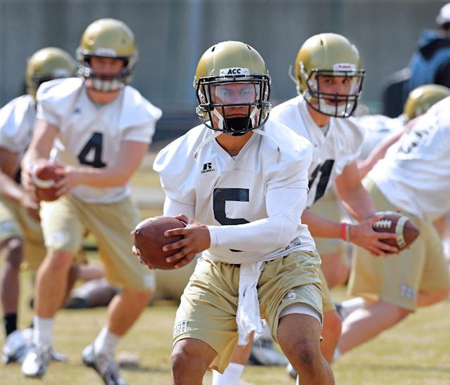 Georgia Tech is getting back to its option offense