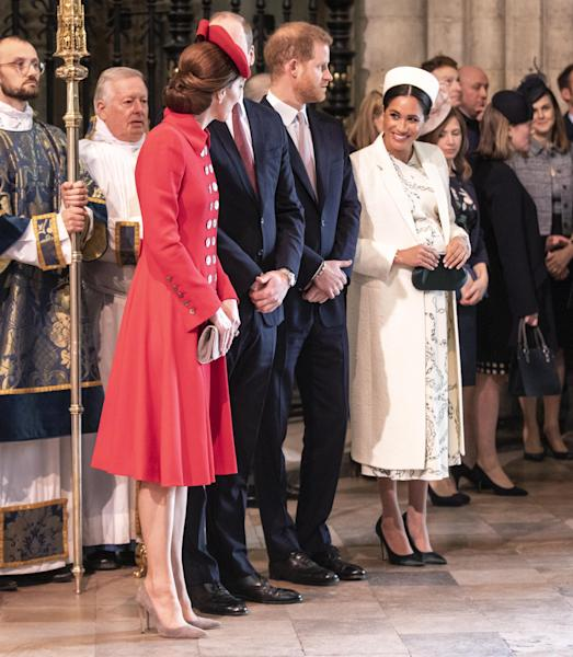 "Prince Harry and Duchess Meghan of Sussex are getting their own ""household,"" to be based at Buckingham Palace."