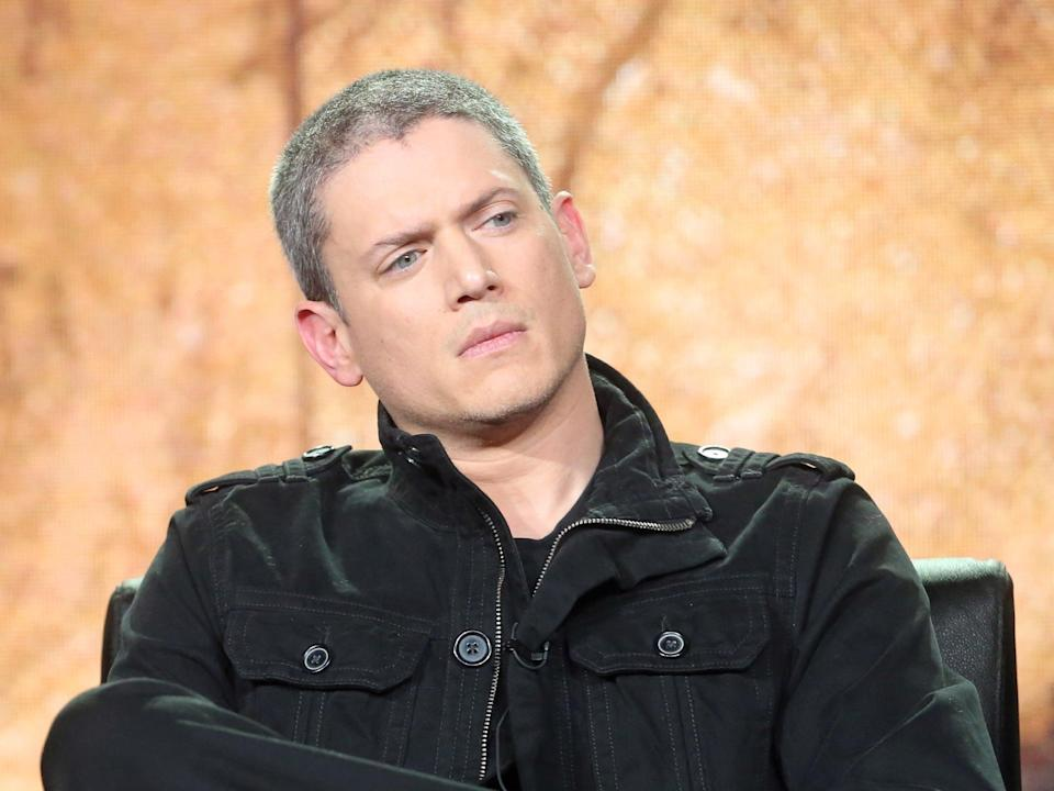 Wentworth Miller at the 2017 Winter Television Critics Association Press Tour (Getty Images)