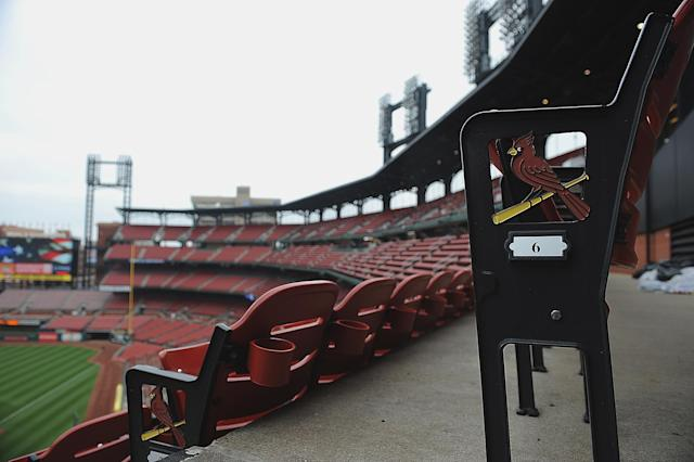No baseball for now, but for how long? (Photo by Michael Thomas/Getty Images)