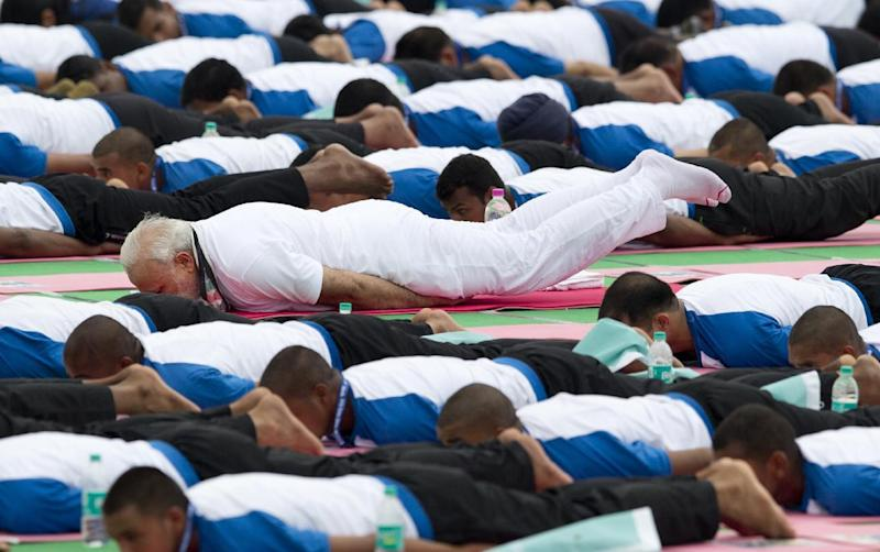 Over 190 Countries celebrate 2nd International Day of Yoga