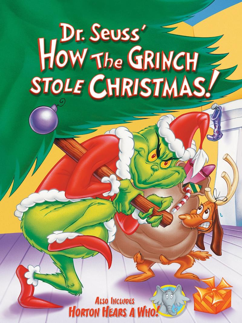 DVD cover of how the grinch stole Christmas