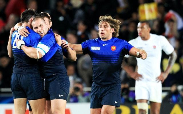 England suffered a 2011 World Cup quarter-final defeat to France in Auckland