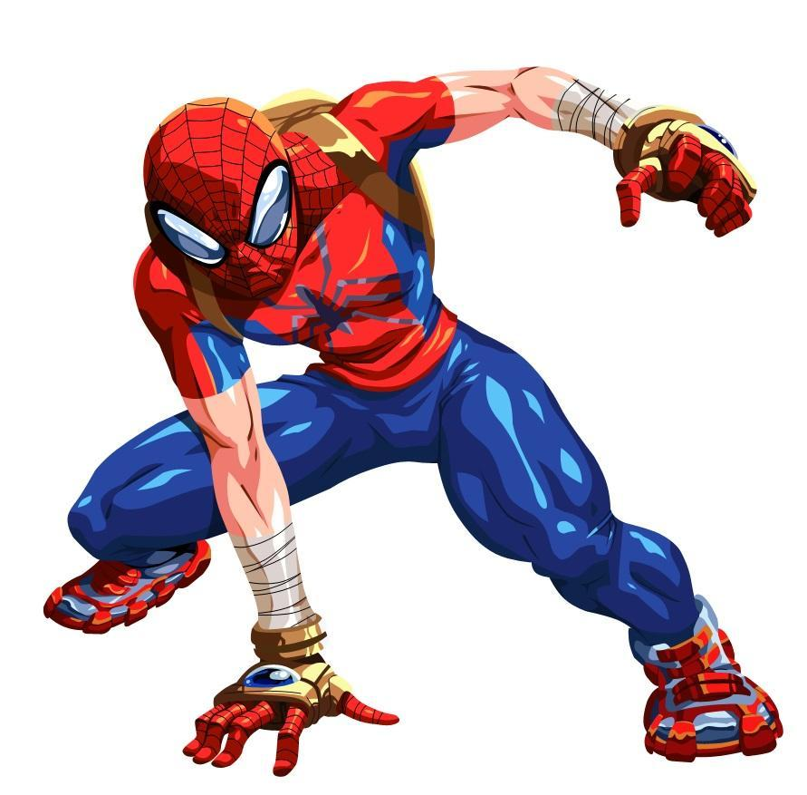 The Marvel Mangaverse version of Spider-Man a member of the Spider-Clan.