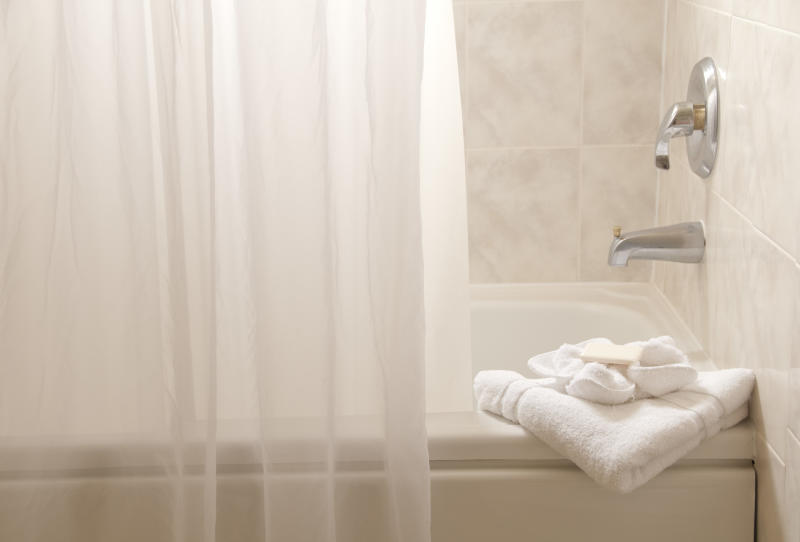 Hate shower liners that get moldy? There's a $9 Amazon version that is mildew and mold resistant. (Photo: Getty Images)