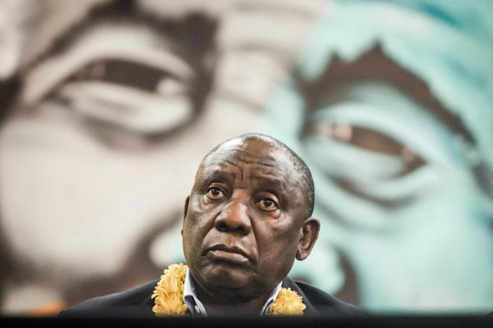 Incumbent President Cyril Ramaphosa is trying to clean up the ANC's image