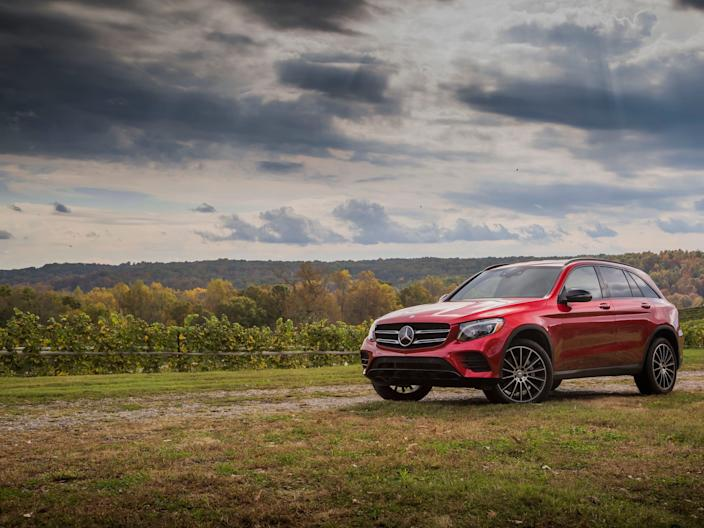 2018 Mercedes-Benz GLC.