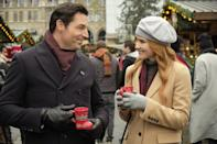 <p><em>Grey's Anatomy </em>alum Sarah Drew plays a classical violinist who travels to Austria over the holidays, even though she's not looking forward to performing a concert. Her creative spark returns, thanks to a handsome American (Brennan Elliott), who's also spending Christmas in Europe.</p>