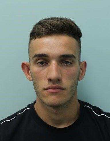 Ermir Loka, 23, claimed that he fled because he had panicked about the consequences for his immigration status. (Metropolitan Police)