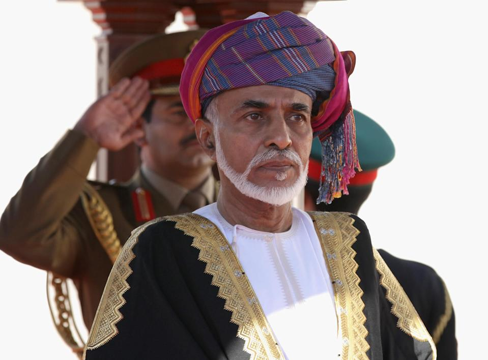 <p>Qaboos bin Said al Said currently holds the title as the longest serving Arab leader and is the Sultan of Oman. He has been married twice. <em>[Photo: Getty]</em> </p>