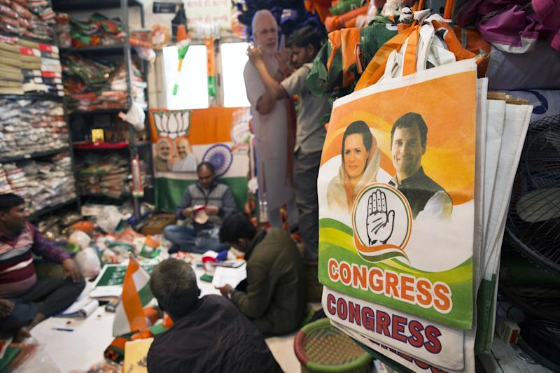 India's Opposition Pledges Minimum Income Plan to Woo Voters