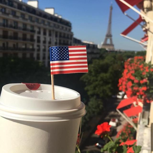 "<p>The fact she's in Paris won't get in the way of Kirsten Dunst getting all patriotic. (Photo: Kirsten Dunst <a href=""https://www.instagram.com/p/BWHgE8HFN6l/"" rel=""nofollow noopener"" target=""_blank"" data-ylk=""slk:via Instagram"" class=""link rapid-noclick-resp"">via Instagram</a>)<br><br></p>"