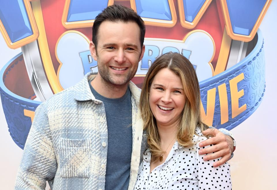 McFly's Harry Judd and wife Izzy have welcomed their third child. (Getty Images)